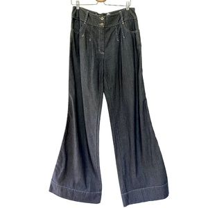 Dolce & Gabbana 1990s Extreme Bell Bottom Jeans